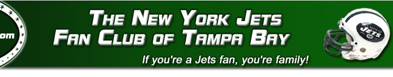 Jets Fan Club of Tampa Banner