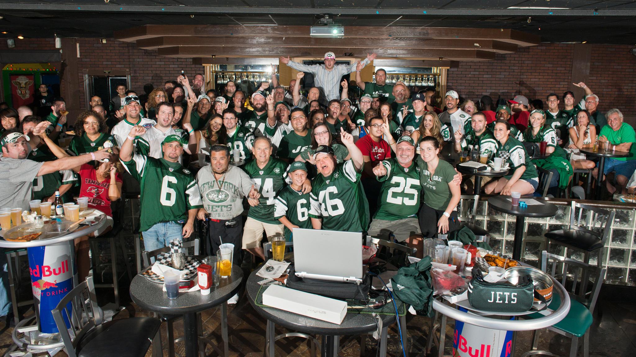 Group Shot taken during week 2 of 2012 season - Jets-vs-Steelers
